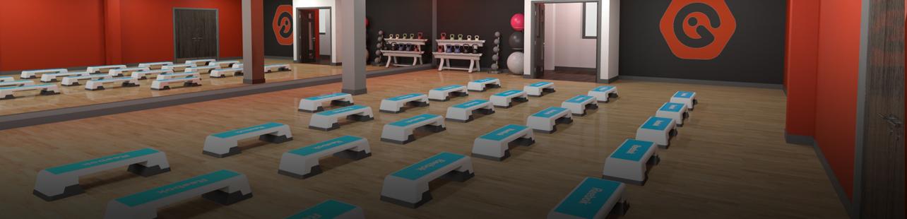 gym studio exercise class